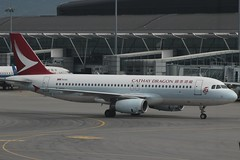 Cathay Dragon (So Cal Metro) Tags: airline airliner airplane aircraft plane jet aviation airport hongkong hkg bhsu cathaydragon dragonair airbus a320