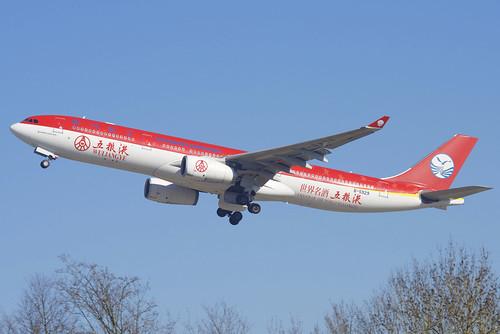 Sichuan Airlines Airbus A330-300; B-5929@ZRH;16.02.2019