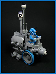 Observation  Rover (Karf Oohlu) Tags: lego moc minifig rover febrovery scifi observer theeyeshaveit space