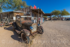 Model A Ford at Hackberry General Store along Historic Route 66 in Arizona (Lee Rentz) Tags: america arizona dustbowl getyourkicksonroute66 hackberry hackberrygeneralstore historicroute66 mainstreetofamerica modela northamerica route99 steinbeck thegrapesofwrath usroute66 us66 willrogershighway americanwest americana artifacts car classic ford fun goodtimes highway historic history horizontal icon iconic memorabilia memories memory nationalscenicbyway nostalgia nostalgic old past road roadtrip route sentiment sentimental shop store themotherroad thewest time transportation usa