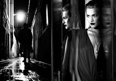 (horlo) Tags: wallpaper fonddécran glamour bw nb blackandwhite noiretblanc monochrome woman femme portrait tonigarrn collage