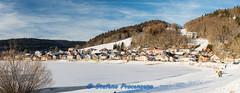 Le Pont, Lac de Joux (Stefano Procenzano) Tags: labbaye vd svizzera ch lepont lacdejoux lago lake cantonvaud d600 nikond600 nikon zeissmilvus50mmf14distagon zeiss milvus1450 zf2 milvus 50mm f14 50mmf14 manualfocuslens mflenses panorama