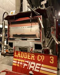 #911Memorial #NewYork (Σταύρος) Tags: 3 fdny ladder3 twistedmetal ladderco3 museum groundzero keepback200feet manhattan downtownmanhattan ny newyorkcity neverforget 911 september11 vacation vacanze bigapple thebigapple memorial 911memorial memorialmuseum worldtradecenter fireengine recon firedepartment fd batteryparkcity inmemoriam iminyuziyamu amgueddfa museo музей museu 박물관 博物館 músaem halehōʻikeʻike μουσείο musée muzej թանգարան متحف newyork nyc