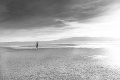 I'm nature (muntsa-joan-BW) Tags: blackandwhite bw bnw beach clouds catalonia playa cielo sea white water light nature nubes solitude