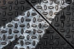 Untitled (Eva Haertel) Tags: eva haertel strase street boden floor markierung mark marking struktur structure textur fuge gap linie line grafisch graphic geometrisch geometric abstrakt abstract minimalism minimalismus diagonal industrie gebier industry area working