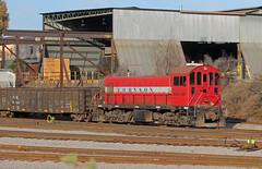Johnson Railway Alco in Cayce 2015 C (Joseph C. Hinson Photography) Tags: americanlocomotive alco caycesouthcarolina cmcsteel train locomotive joehinon joethephotog johnsonrailway jrwx132 lrs132 laurinburgsouthernrailroad steelmill rfp58 repoweredwithcumminsmotor richmondfredericksburgpotomac industry industrial