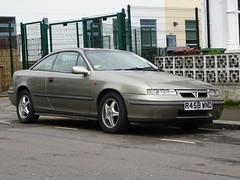 1997 Vauxhall Calibra 2.5 V6 Auto (Neil's classics) Tags: vehicle 1997 vauxhall calibra 25 v6 auto car