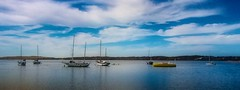 Morro Bay Habor  No.2 (CDay DaytimeStudios w /1 Million views) Tags: beach boats ca california cloudyday cloudysky coastline harbor highway1 morrobay ocean pacificcoast pacificcoasthighway sailboats sky water yachts
