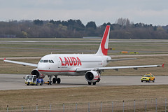 OE-LOA Airbus A320-214 Laudamotion after accident under tow Stansted 02nd March 2019 (michael_hibbins) Tags: oeloa airbus a320214 laudamotion after accident closeup stansted 02nd march 2019 aeroplane aircraft aerospace aviation airplane air aero airfields airport airports airliner airline airlines incident passanger passenger civil commercial plane planes jet jets explosion failiure ryanair