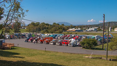 The back lot (NoVa Truck & Transport Photos) Tags: truck big rig 18 wheeler 2017 large car mag southern classic ta lexington va