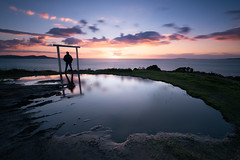 Punta Faxilda (jojesari) Tags: puntafaxilda puntaestofallas sanxenxo pontevedra galicia jojesari suso ocaso sunset atardecer autorretrato paisaje landscape