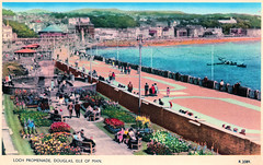 Douglas, Isle of Man - Loch Promenade Prior to 1954. And What A.A. Gill Thought of the Isle of Man. (pepandtim) Tags: postcard old early nostalgia nostalgic douglas isle man loch promenade 1954 valchrome series valentine sons dundee london 28061954 cross palm street droylsden manchester aunty win adrian anthony gill born british writer critic food travel sunday times tatler full english cancer 35dug73 fountain benches