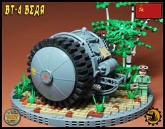 BT_4 Bear 03 (Cooper Works 70) Tags: lego tank military ww2 wwii alternative custom stickers