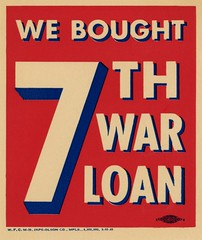 We Bought—7th War Loan (Alan Mays) Tags: ephemera signs labels advertising advertisements ads paper printed 7thwarloan seventhwarloan warloans loans warbonds bonds ussavingsbonds bought purchases seventhwarloandrive 7thwarloandrive drives worldwarii wwii wars borders dropshadow red white blue japsolson japsolsonco minneapolis mn minnesota 1945 1940s antique old vintage typefaces type typography fonts alliedprintingtradescouncil unions unionbugs bugs unionlabels