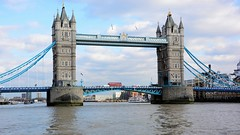 Tower Bridge (moniquerebanks) Tags: london uk towerbridge waterfront architecture thames londonbus transport river scenery nikond7100 building england