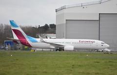 D-ABKN B737 86J Eurowings (corrydave) Tags: 37756 b737 b737800 eurowings shannon dabkn iac