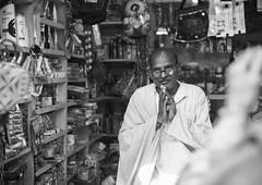 Namaskar - Takumar 50mm 1.4 (thomas.pirolt) Tags: takumar sony india a7ii 50mm 14 braj goverdhan radhakund streetphotography street streetlife a7 people portrait candid moment theindiatree old blackandwhite bw monocrome mono