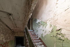Lost Place (Frank Guschmann) Tags: berlin lostplace frankguschmann nikond500 d500 nikon staircase stairwell escaliers architektur stairs stufen steps abandoned