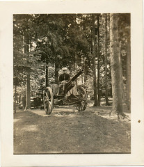 Field Artillery (KID DEUCE) Tags: old photo snapshot history nostalgia found artillery soldier