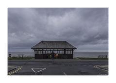 Tankerton Shelter © (wpnewington) Tags: tankerton whitstable coast seaside kent shelter sky dusk