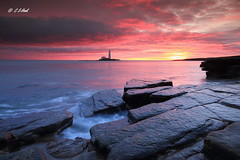 Morning Glory ( Explore ) (carmellestewarthook) Tags: st marys light house sunrise rocks seascape lee canon 70d