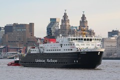 Clansman (Das Boot 160) Tags: clansman calmac scottishferries ferries ferry lairds cammelllairds ships sea ship river rivermersey port docks docking dock boat boats birkenhead maritime mersey merseyshipping