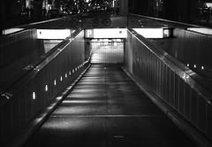 Parking Entrance (ckilger) Tags: beleuchtung bw leicam10 licht lowlight mannheim nacht night summiluxm11450asph sw parking parkgarage parkhaus einfahrt perspektive