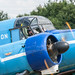 A wave from the Avro Anson