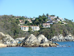 Houses on the Hill (knightbefore_99) Tags: mexico mexican awesome huatulco tangolunda azul oaxaca tropical best nice hill houses pretty sol sun sunny pacific coast