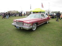 Cadillac Coupe De Ville 642NBE (Andrew 2.8i) Tags: show classic cars car mare super weston classics v8 american coupe deville ville de cadillac