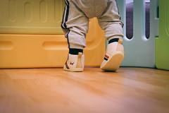 DSCF1061 (Brian HCH) Tags: xt1 fujifilm brianhuang 小黃金 寶寶 寶貝兒子 baby dd golden 鞋子 亞瑟士 asics suku2 first