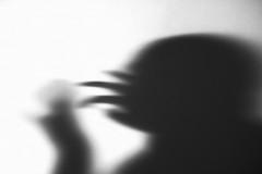 reaching into subconsciousness (Neko! Neko! Neko!) Tags: blackandwhite blackwhite bw mono monochrome dreams memory mind shadows light contrast emotion feeling subconsciousness expression expressionism lensbaby