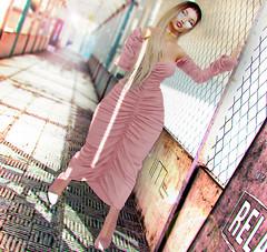 934 (lindalindalein mayo) Tags: addams doux new blog sl second life woman bento mesh maitreya pink