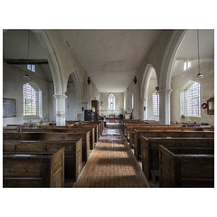 Nave, looking east (badger_beard) Tags: st augustine canterbury burrough green cambridgeshire south cambs east newmarket parish church england nave