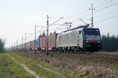 189 455 (PM's photography) Tags: train trainspotting locomotive poland polska rail railway railroad e20 paledzie wielkopolska siemens eurosprinter es64f4 189455