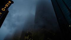 downtown (m_laRs_k) Tags: sliderssunday hss yellow blue lightroomed usa manhattan nyc ny 169 olympus omd 14150 superzoom 纽约 ньюйо́рк foggy moody