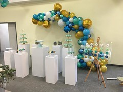 Organic ballonnen half boog