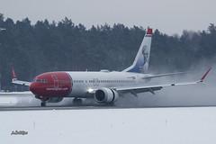IMG_9142@L6 (Logan-26) Tags: boeing 7378 max lnbkb norwegian air shuttle riga international rix evra latvia airport aleksandrs čubikins marktwain