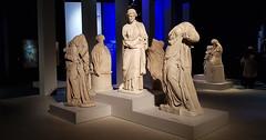 - three antique women sculptures - (Jac Hardyy) Tags: three antique women sculptures sculpture woman pergamon museum pergamonmuseum berlin germany figure figures statue statues headless marble stone kopflos skulptur skulpturen figur figuren marmor stein