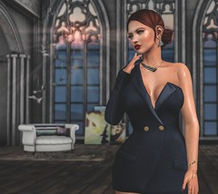 You Might Not Like Me (Arwen Clarity) Tags: sllooksgoodtoday secondlife sl slblog pose people 2ndlife second life mesh maitreya blogs blog blogger bloggers blogging realevil tableauvivant deetalez genus emarie trompeloeil