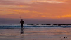 Catching the sunset (ToxicTabasco) Tags: fisherman cayucos pch