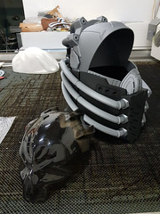 All For One Helmet (Cosplus) Tags: my hero academia helmet concept scifi 3d print cool industrial mask cosplay