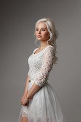 wed (Aleksey Panteleev) Tags: wedding girl glamour white blonde studio bridal bride celebration ceremony
