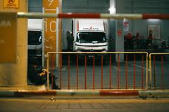 (Hem.Odd) Tags: malaysia kualalumpur parkinglot smoking truck relaxing canonae1program fujicolorc200 fd50mmf18