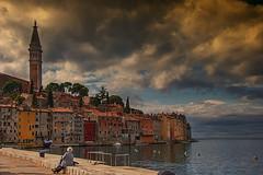 Rovinj - Croatia (JLM62380) Tags: rovinj colors croatia ville urban town harbor port personne nuages clouds sea ocean mer croatie water bay ciel océan eau
