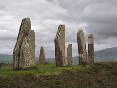 The Oldest Stone Circle (joiseyshowaa) Tags: henge stone prehistoric archaeology norse nordic loch north sea dig neolithic world heritage site travel holiday tour tourist vacation uk united kingdom great britain england ceremonial ceremony ness brodgar ring
