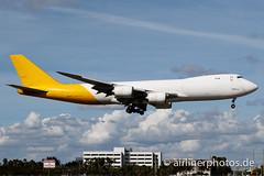 N856GT (Airlinerphotos.de) Tags: atlasair b747800 mia