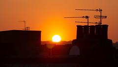 Sunset 27 Feb 2019 (Sculptor Lil) Tags: canon700d sunset london