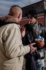 Cig (gergelytakacs) Tags: 28mm apsc eu easterneurope easternslovakia europe europeanunion gr grd helmec királyhelmec kráľovskýchlmec kráľovskýchlumec pentax ricoh slovak slovakrepublic slovakia slovensko terebes trebišov bystander calle candid chat chatting chroma cigarette color colore colour compact couleur east farbfotografie fixedlens flour flâneur fotocromía hand hands hat hlavnáulica hue people portrait primelens rue saturation scarf shades smokes smoking strada stranger strasenfotografie street streetphotographer streetphotography streetphotgrapher streetphotgraphy sunglasses talking ulica unposed urban urbanphoto urbanphotographer urbanphotography utcafotó východ улица цветная רחוב