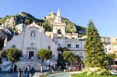 Taormina, Sicily (jbdodane) Tags: church europe italy sicily taormina